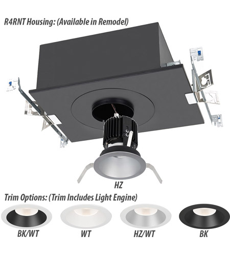 WAC Lighting R4RD2T-W840-HZWT Volta LED Module Haze White Trim alternative photo thumbnail