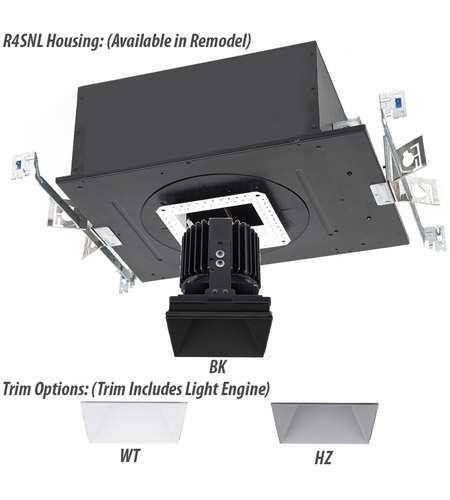 WAC Lighting R4SD2L-F840-HZ Volta LED Module Haze Invisible Trim alternative photo thumbnail