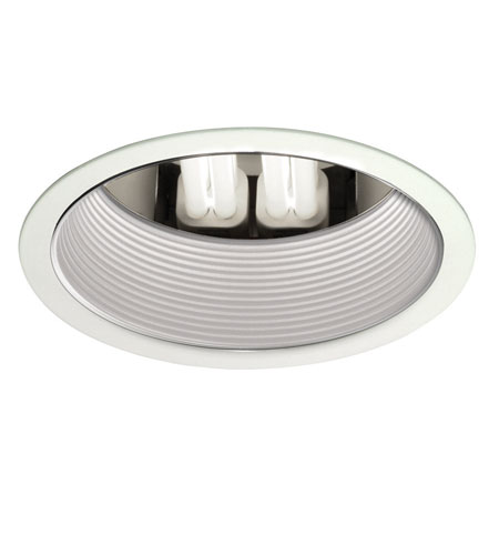 WAC 6 In Downlight Housing Rec. Line Volt Trim Step Baffle Recessed Downlights - 6 Inch R6HT-22-BK photo