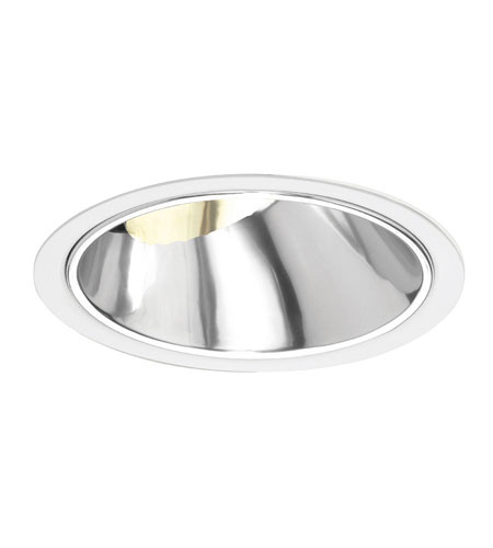 WAC 6 In Downlight Trim Rec. Line Volt Slope W/Step Baffle Recessed Downlights - 6 Inch R6VT-42-SBK photo