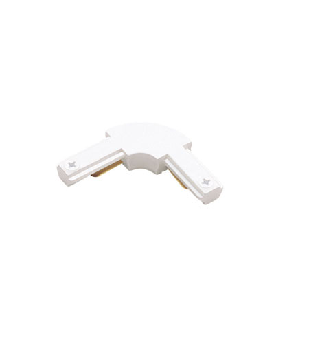 WAC Lighting Linear L Connector in White SL-WT photo
