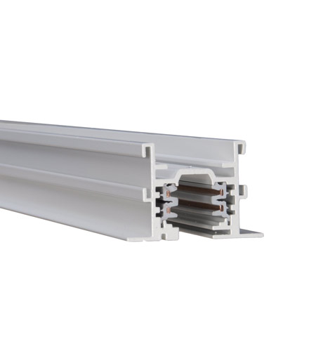 Recessed Led Track Lighting: WAC Lighting WHT12-RT-WT Track System 277V White Recessed