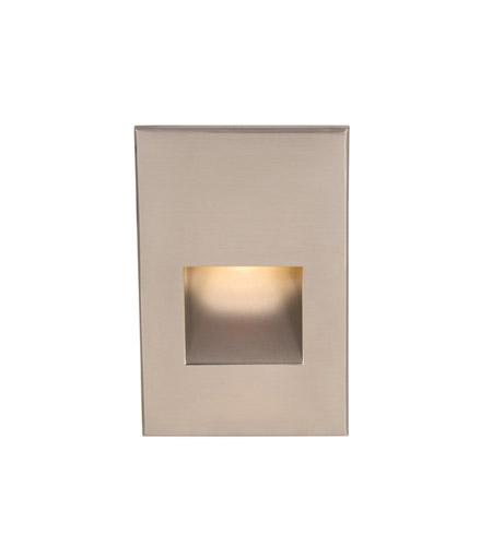 Wac Lighting Wl Led200 C Bn Outdoor 120v 3 9 Watt Brushed Nickel Step Light In 3000k 00 Inch