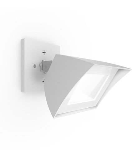 Architectural White Aluminum Outdoor Wall Lights
