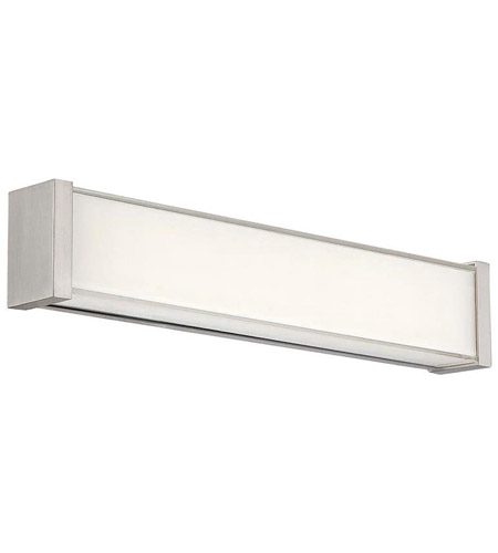 Brushed Nickel Svelte Bathroom Vanity Lights