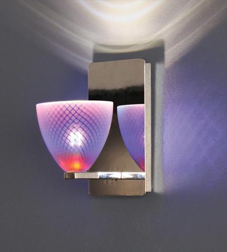 Wac Lighting Ws Mr58 Ch Signature 1 Light 5 Inch Chrome Wall Sconce Bracket