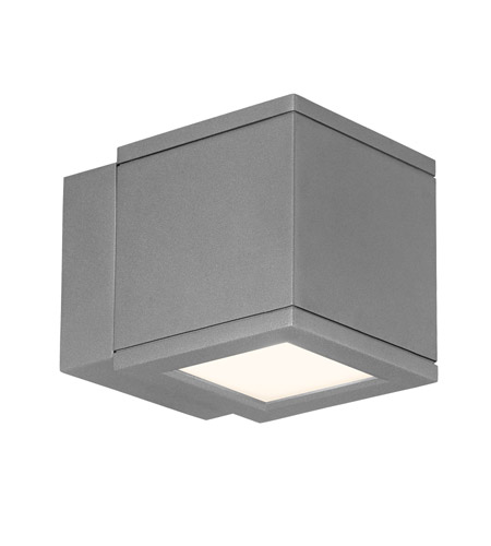 wac lighting wsw2504gh outdoor lighting led 5 inch graphite outdoor wall mount - Wac Lighting
