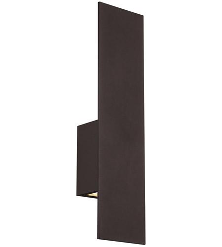 Icon Led 20 Inch Bronze Outdoor Wall Sconce Dweled