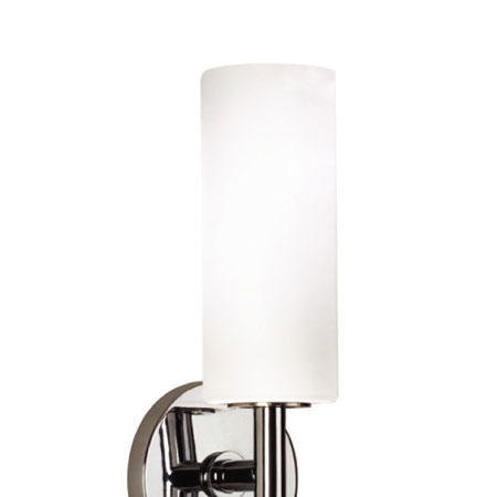 WAC Lighting Blanc Single Shade Wall Sconce - 120V 60 in Chrome WS120-G100WT/CH photo