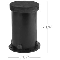 WAC Lighting 5030-PIP-PVC Landscape 12-120v Black Well Light alternative photo thumbnail