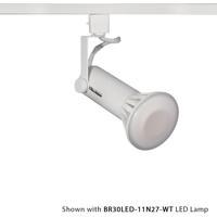 WAC Lighting HTK-188-WT TK-188 1 Light 120V White H Track Fixture Ceiling Light