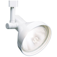 WAC Lighting HTK-738-WT TK-738 1 Light 120V White H Track Fixture Ceiling Light