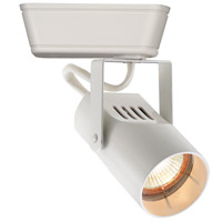 WAC Lighting JHT-007L-WT HT-007 1 Light 120V White J Track Fixture Ceiling Light in J/J2 Track