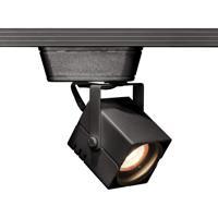 WAC Lighting JHT-801L-BK 120v Track System 1 Light 12V Black Low Voltage Directional Ceiling Light in 75 J/J2 Track