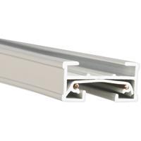 WAC Lighting JT4-WT 120v Track System White Track Section Ceiling Light in 4ft