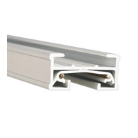 WAC Lighting J Series 6Ft Track W/2 Endcaps in White JT6-WT