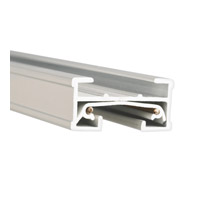 WAC Lighting J Series 8Ft Track W/2 Endcaps in White JT8-WT