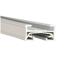 WAC Lighting JT8-WT 120v Track System White Track Section Ceiling Light in 8ft