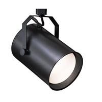 WAC Lighting J Series Line Volt Track Head in Black JTK-706-BK