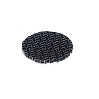 WAC Lighting LENS-16-HCL Optics Honey Comb Louver Honeycomb Louver Ceiling Light in MR16, HCL