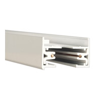 WAC Lighting L Series 2Ft Track W/2 Endcaps in White LT2-WT