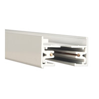 WAC Lighting L Series 8Ft Track W/2 Endcaps in White LT8-WT