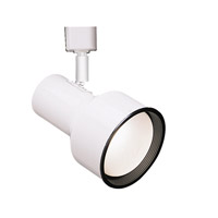 WAC Lighting L Series Line Volt Track Head in White LTK-703-WT