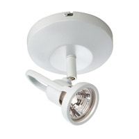 WAC Lighting Display Lighting 1 Light Surface Mount Directional in White ME-826LED-WT