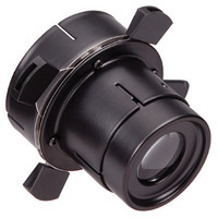 WAC Lighting 008FP-BK Optics Black Framing Projector Snoot Ceiling Light