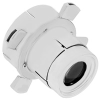 WAC Lighting 008FP-WT Optics White Framing Projector Snoot Ceiling Light