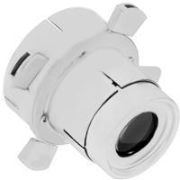 WAC Lighting 008FP-WT Optics White Framing Projector Snoot Ceiling Light