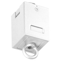 WAC Lighting L-LOOP-WT 120v Track System White Track Suspension Loop Ceiling Light in L Track