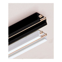 WAC Lighting Linear 4 Foot Track in Black ST4-BK