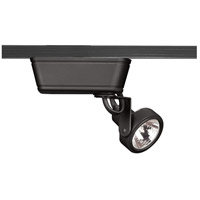 WAC Lighting JHT-160L-BK Range 1 Light 120V Black J Track Fixture Ceiling Light in 75 J/J2 Track