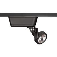 WAC Lighting JHT-160L-BK Range 1 Light 120V Black J Track Fixture Ceiling Light in 75, J/J2 Track