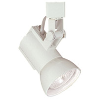 WAC Lighting HTK-773-WT 120V Track System 1 Light 120V White Line Voltage Directional Ceiling Light in H Track