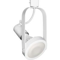 WAC Lighting HTK-764-WT TK-764 1 Light 120V White H Track Fixture Ceiling Light