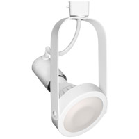 WAC Lighting JTK-764-WT TK-764 1 Light 120V White J Track Fixture Ceiling Light