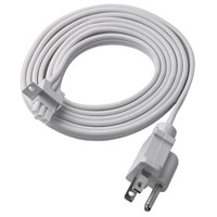 WAC Lighting BA-PC6-WT Undercabinet Lighting 60 inch White Undercabinet Power Cord