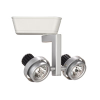 J Track - Low Voltage Track Head 2 Light 12V Platinum/White Track Lighting Ceiling Light in 50, J/J2 Track