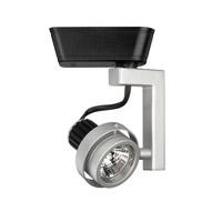 WAC Lighting J Series Low Volt Track Head 50W in Platinum/Black JHT-815-PT/BK