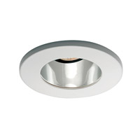 Recessed Lighting MR16 White Recessed Trim and Socket, Commercial and Residential Lighting