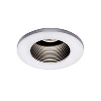 WAC Lighting HR-D324-WT/WT Recessed Lighting MR16 White Recessed Trim and Socket Commercial and Residential Lighting
