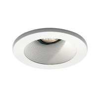 WAC Lighting Rec. Low Volt Trim Basic Baffle in White/White HR-D411-WT/WT