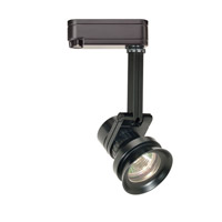 WAC Lighting L Series Low Voltage Track Head 75W in Black LHT-163L-BK