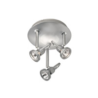 WAC Lighting Low Voltage Surface Mount - 3 Lights in Platinum PAN-826-PT