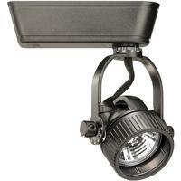 WAC Lighting HHT-164L-BK H Track - Fixture 1 Light 12V Black Track Lighting Ceiling Light in 75