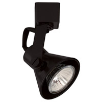 WAC Lighting LTK-103-BK Tk-103 Miniature 1 Light 120V Black L Track Fixture Ceiling Light