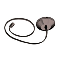 WAC Lighting LM-PCS96-DB Solorail Dark Bronze Rail Cable Power Feed Ceiling Light in 8ft, 96in photo thumbnail