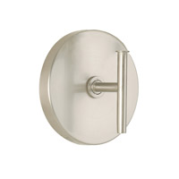 WAC Lighting Wall Sconce 120V 60W Round Back Plate in Brushed Nickel WS-120-BN photo thumbnail